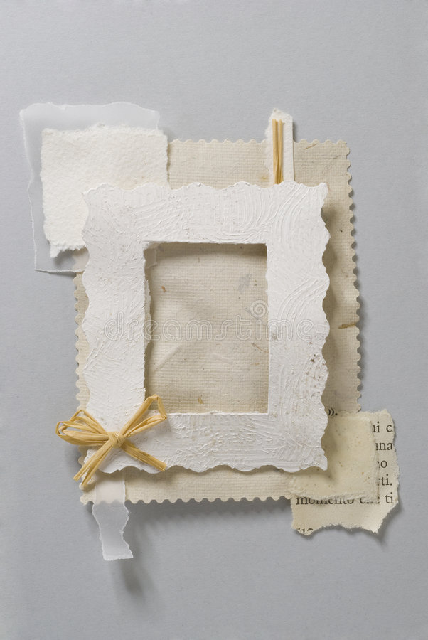 Paper frame stock photos