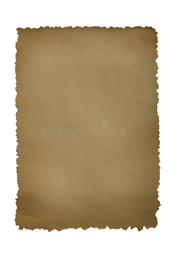 Paper Grunge Burnt Royalty Free Stock Images