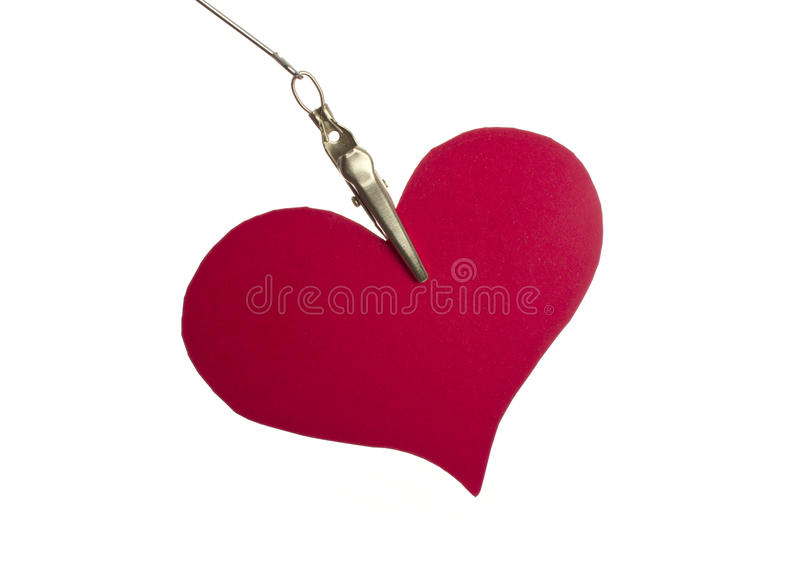 Download Paper Heart Handing Stock Photography - Image: 28668732
