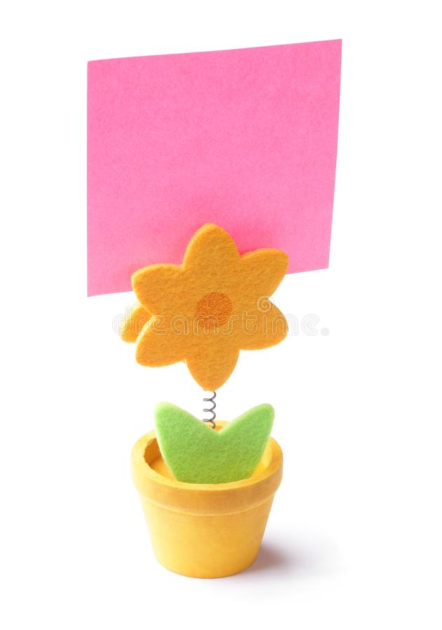 Download Paper holder stock image. Image of message, objects, spring - 32544783