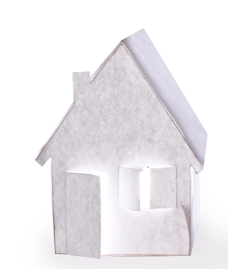 Download Paper House.Isolated Royalty Free Stock Photos - Image: 35007588