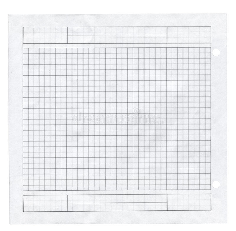 paper kvadrerat litet för stycke royaltyfria bilder