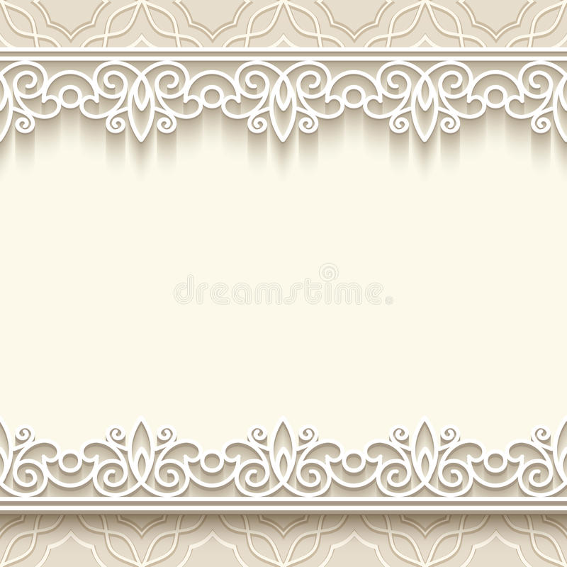 Free Paper Lace Background Royalty Free Stock Photography - 39301157