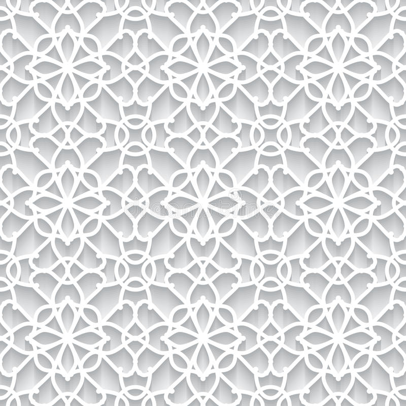 Paper lace texture. Abstract paper lace texture, seamless pattern royalty free illustration