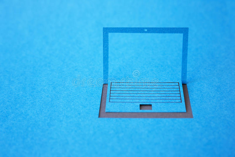 Download Paper Laptop Stock Image - Image: 32366651