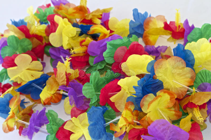 Paper Leis stock photography