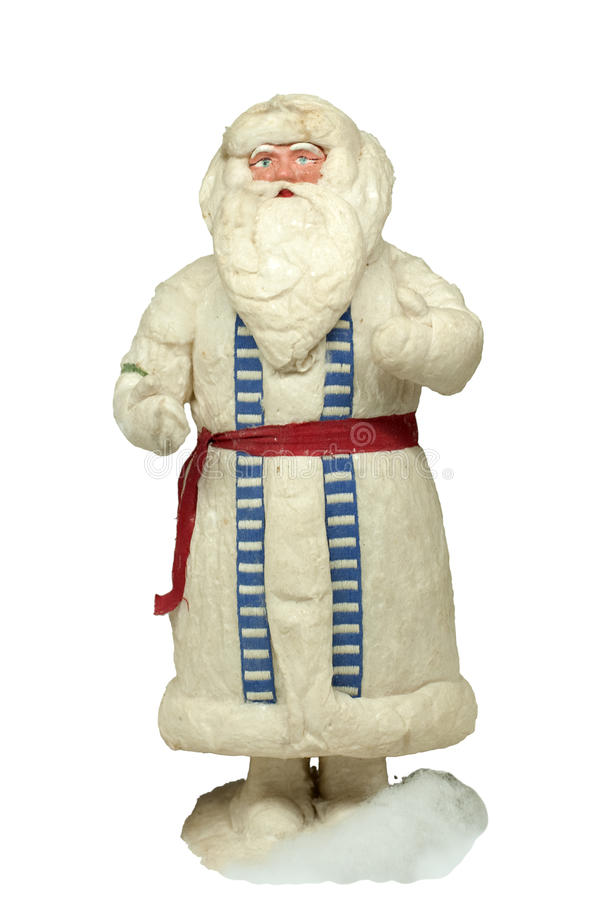 Download Paper-mache Santa Claus Toy Stock Photo - Image: 12602860