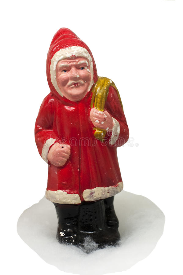 Download Paper-mache Santa Claus Toy (with Sack) Stock Image - Image of happy, claus: 12602849