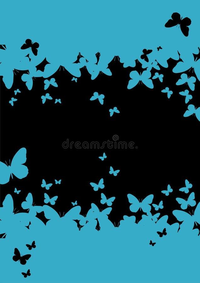 paper mallvägg för fjäril royaltyfri bild