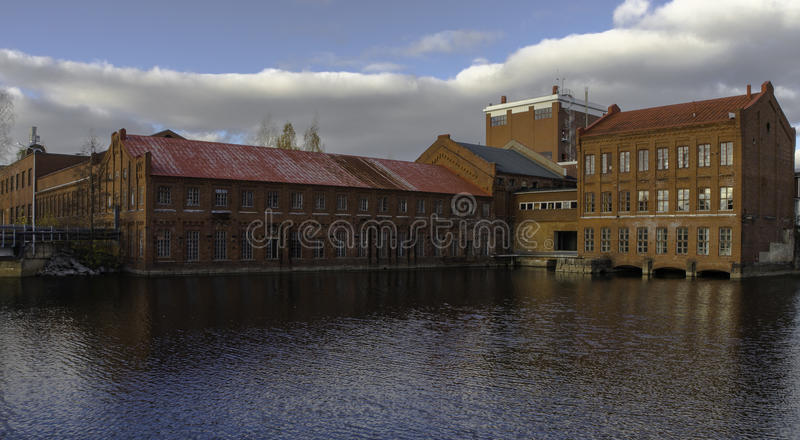 Paper mill. royalty free stock images
