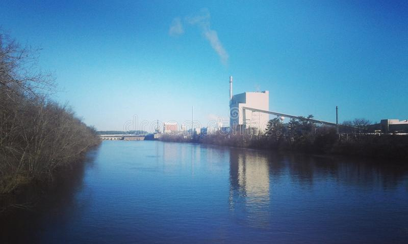 Paper mill royalty free stock image