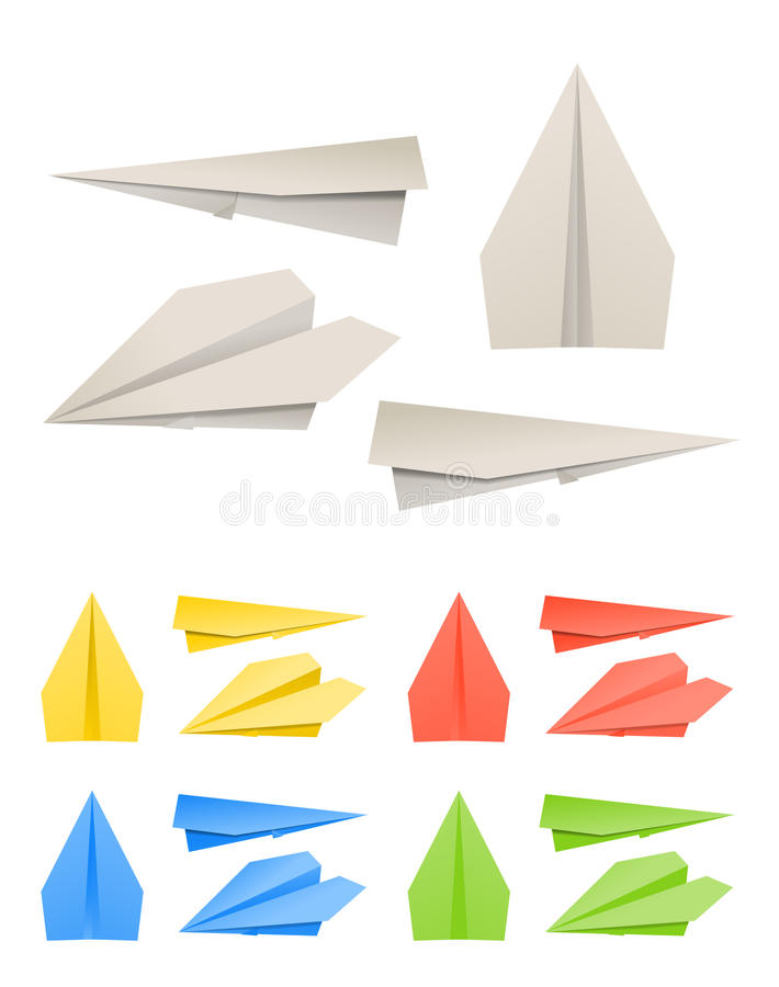 Paper models of planes