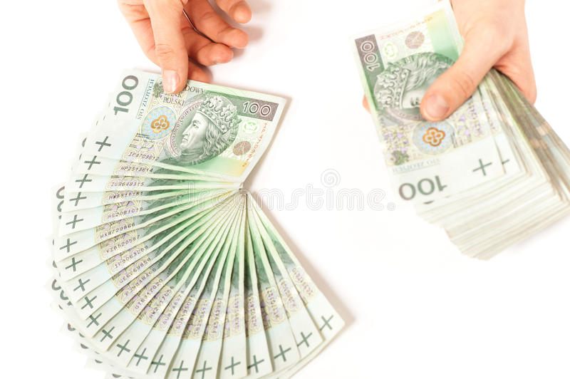 Download Paper Money And Two Hands Holdinh It Stock Image - Image: 24948749