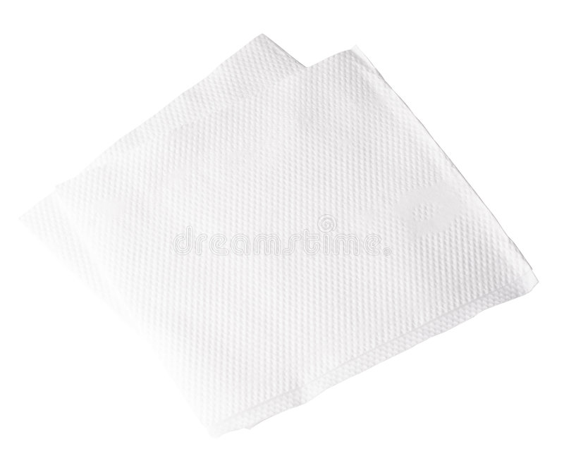 Download Paper Napkin stock photo. Image of paper, single, object - 7412578