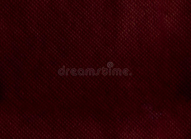 Paper napkin embossing seamless texture. burgundy color background.  royalty free stock images