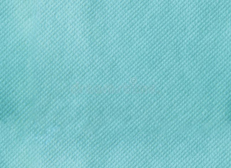 Paper napkin embossing seamless texture. tiffany color background royalty free stock image