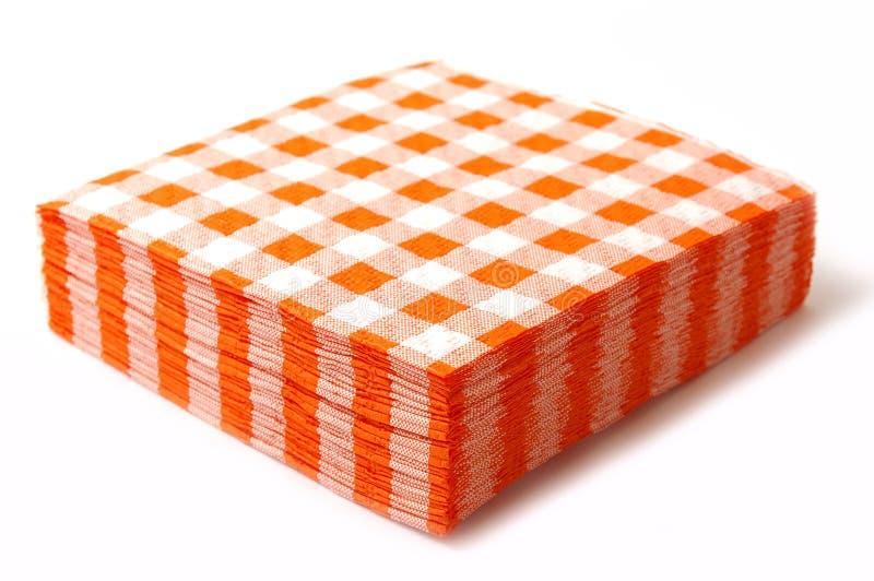 Download Paper napkins stock illustration. Illustration of orange - 7640196