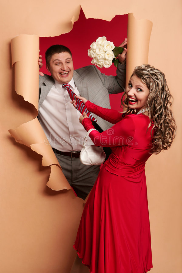 Download Paper and necktie stock photo. Image of fright, activity - 7170714