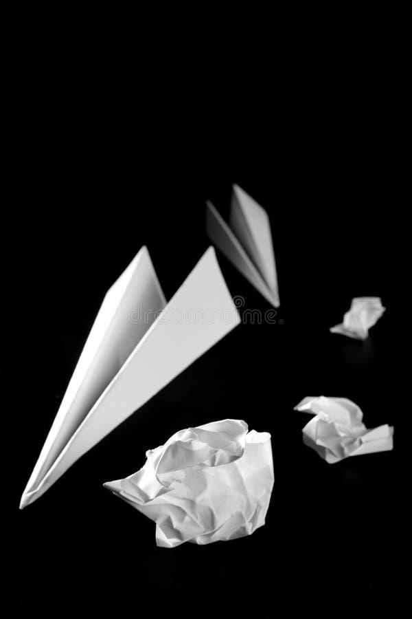 paper nivåavfall för luft arkivbild