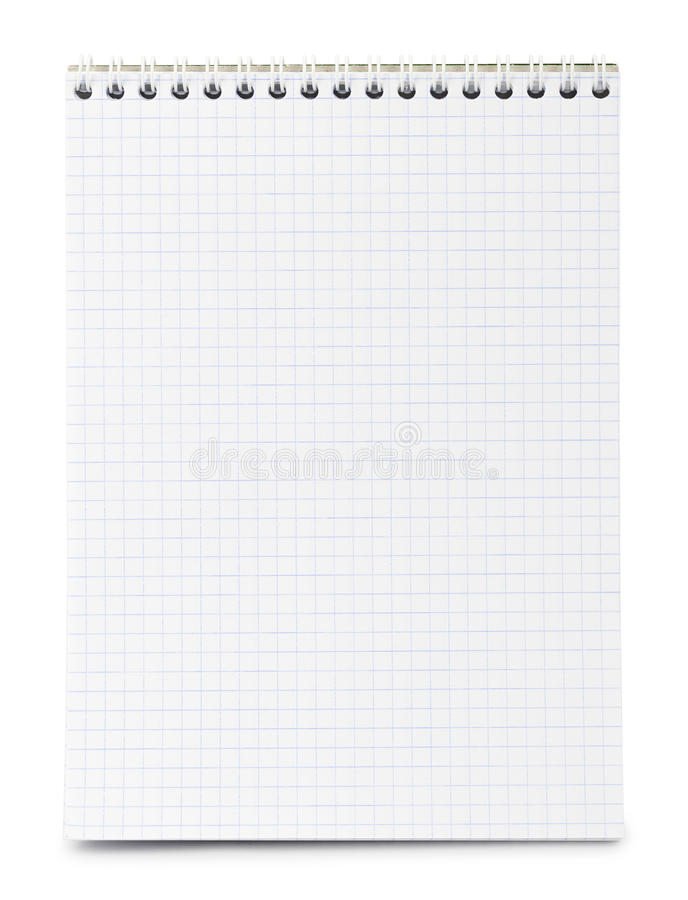 Paper Notepad Stock Image