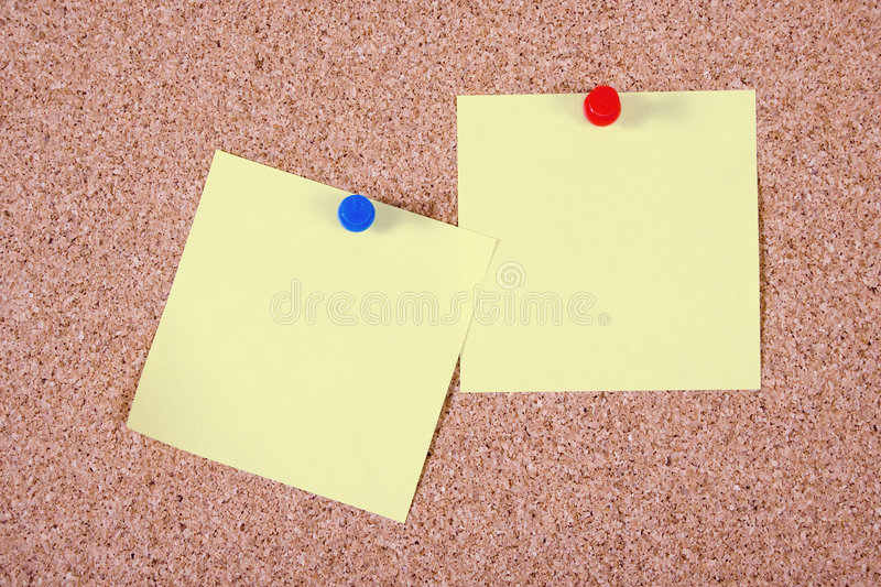 Paper notes stock photography