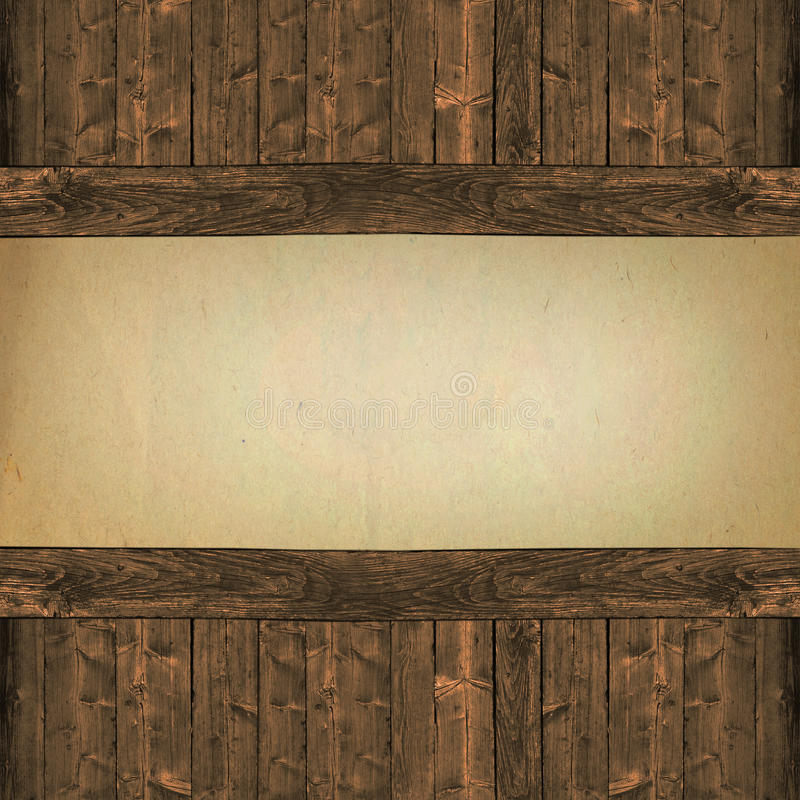 Free Paper On Wood Background Stock Photo - 35887910