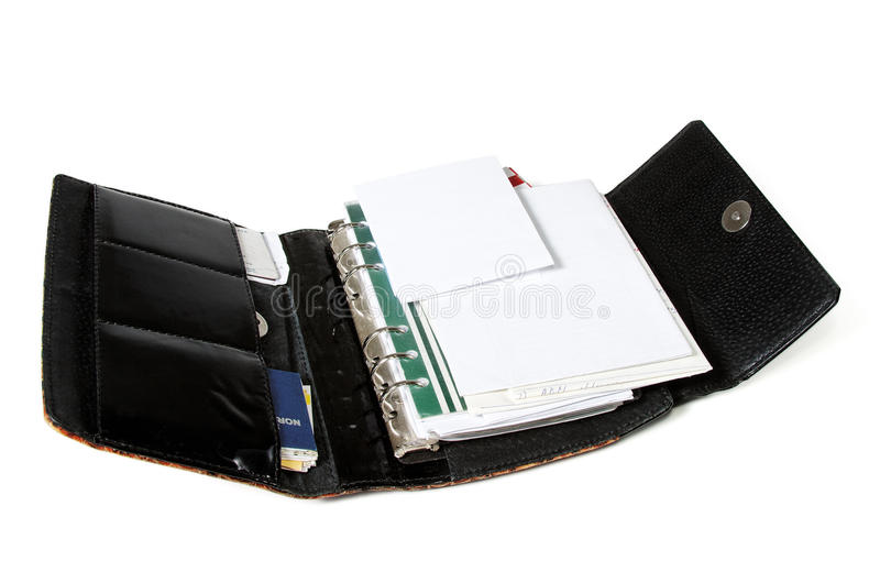 Paper organizer stock images