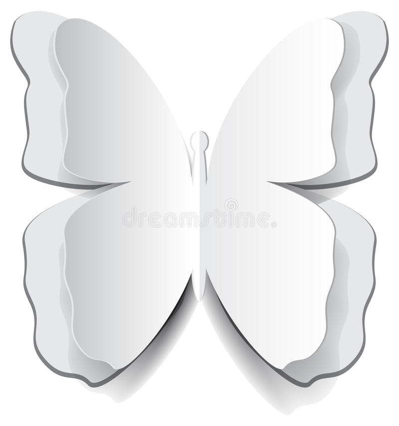 Download Paper origami butterfly stock vector. Image of figure - 28419162