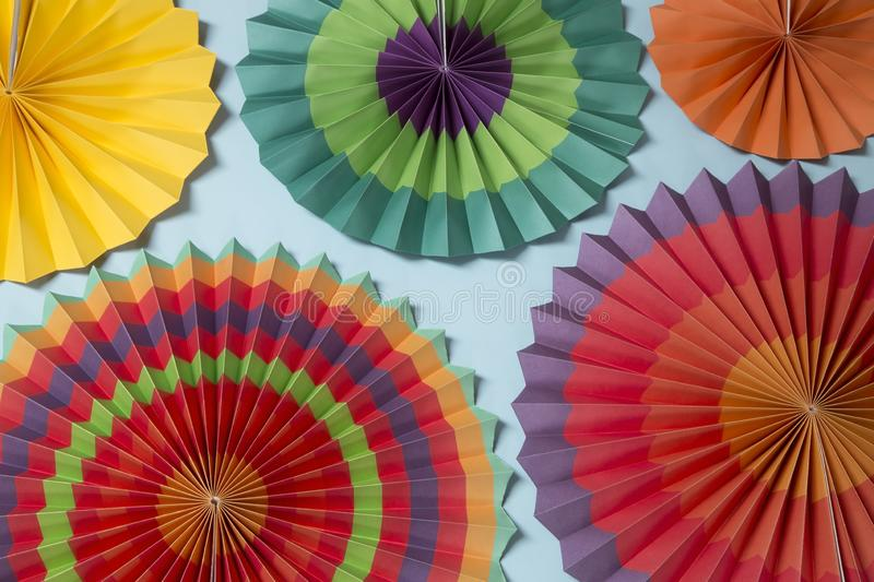 Paper ornaments background stock photos