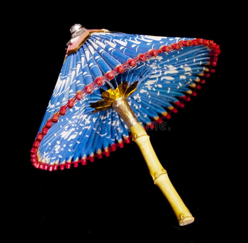 paper paraply royaltyfria bilder