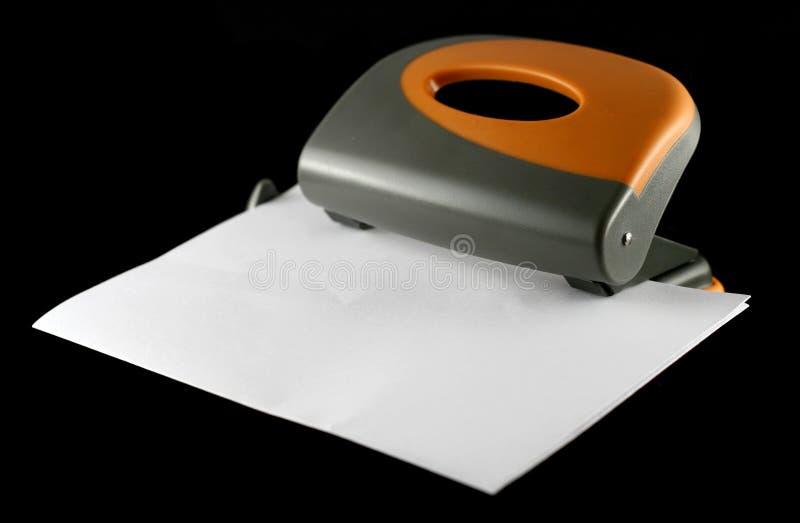 paper perforator sheet στοκ φωτογραφία