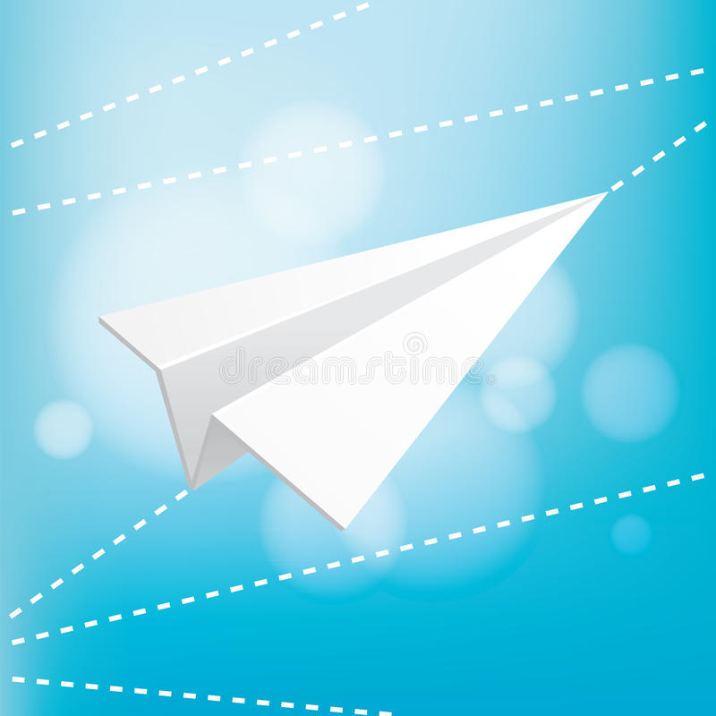 Download Paper Plane Royalty Free Stock Image - Image: 27908856