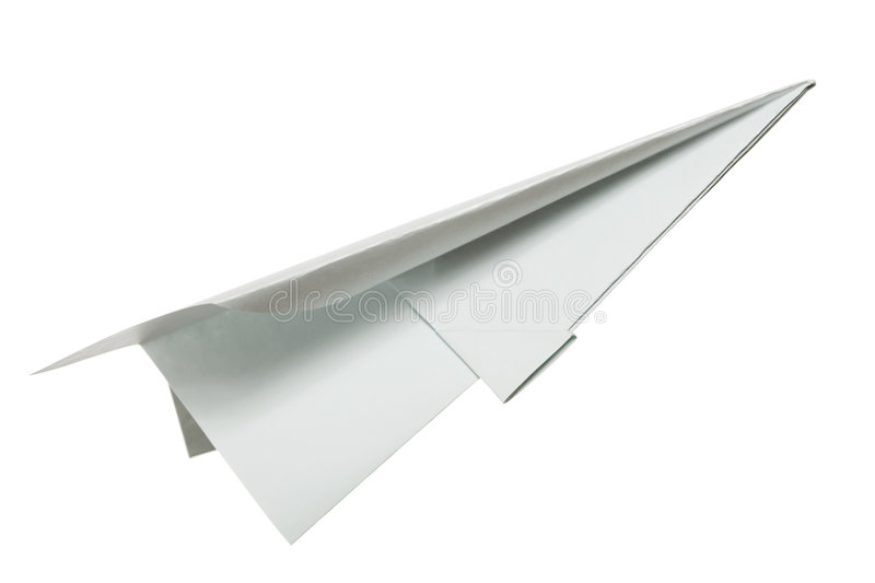 Paper plane royalty free stock photography