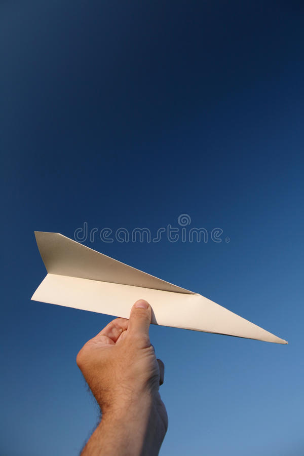 Download Paper plane stock photo. Image of high, holiday, dream - 33590264