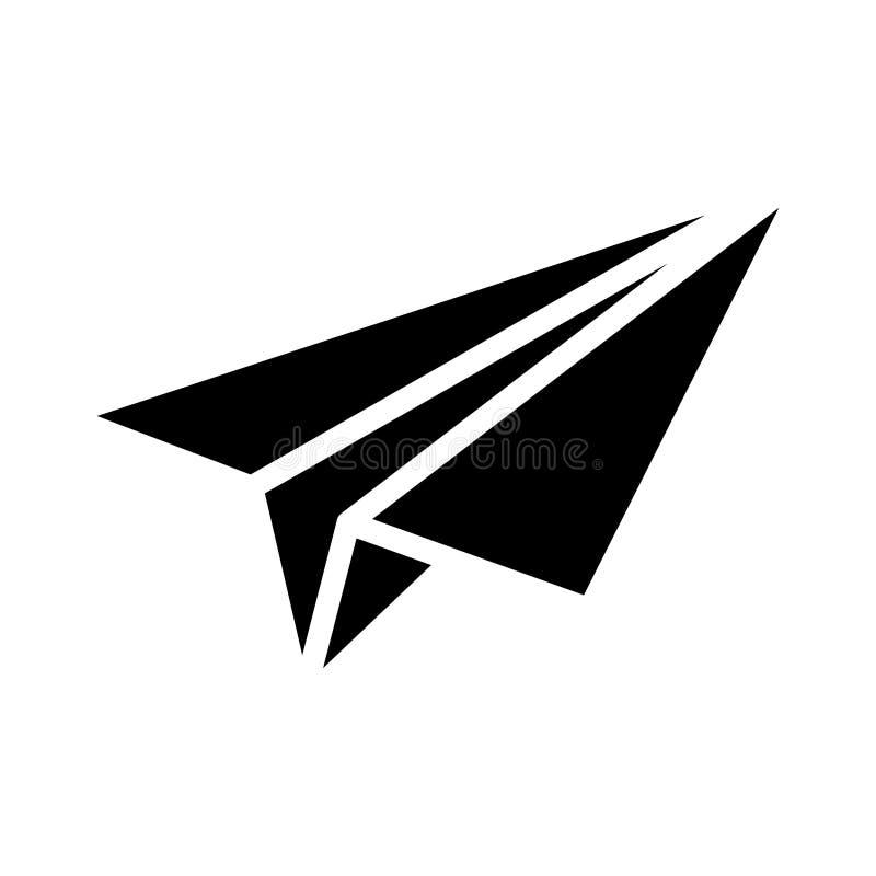 Free Paper Plane Glyph Flat Vector Icon Stock Photos - 158229593