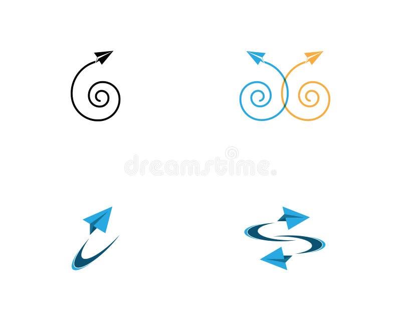Paper plane icon vector illustration design royalty free illustration