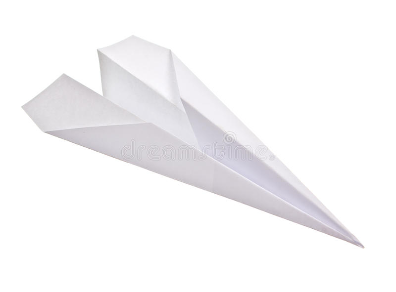 Download Paper Plane Isolated Royalty Free Stock Photos - Image: 25268298