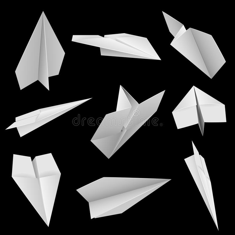 Download Paper planes stock vector. Image of free, clean, craft - 15965387