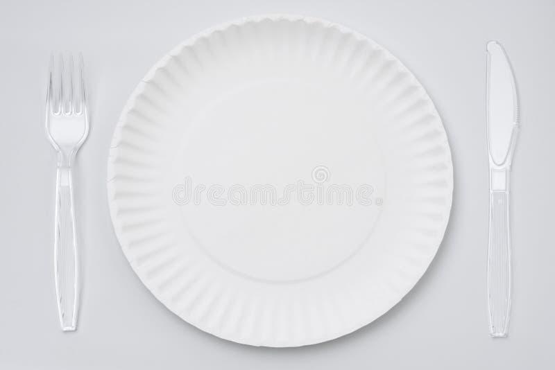paper platta arkivbild