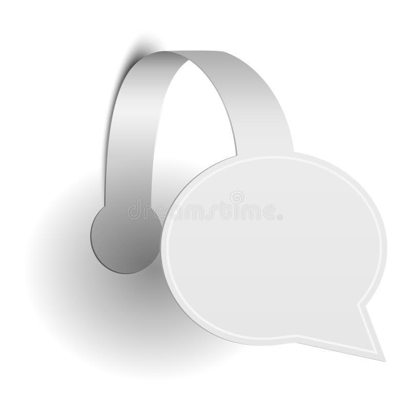 Free Paper Promotion Wobbler Stock Images - 34160284