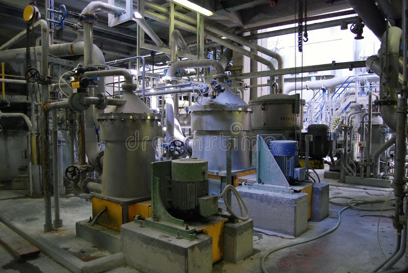 Download Paper And Pulp Mill - De-inking Royalty Free Stock Photos - Image: 9784638
