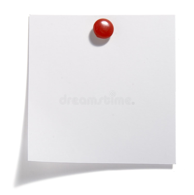 Download Paper with red clip stock image. Image of memo, information - 8772087