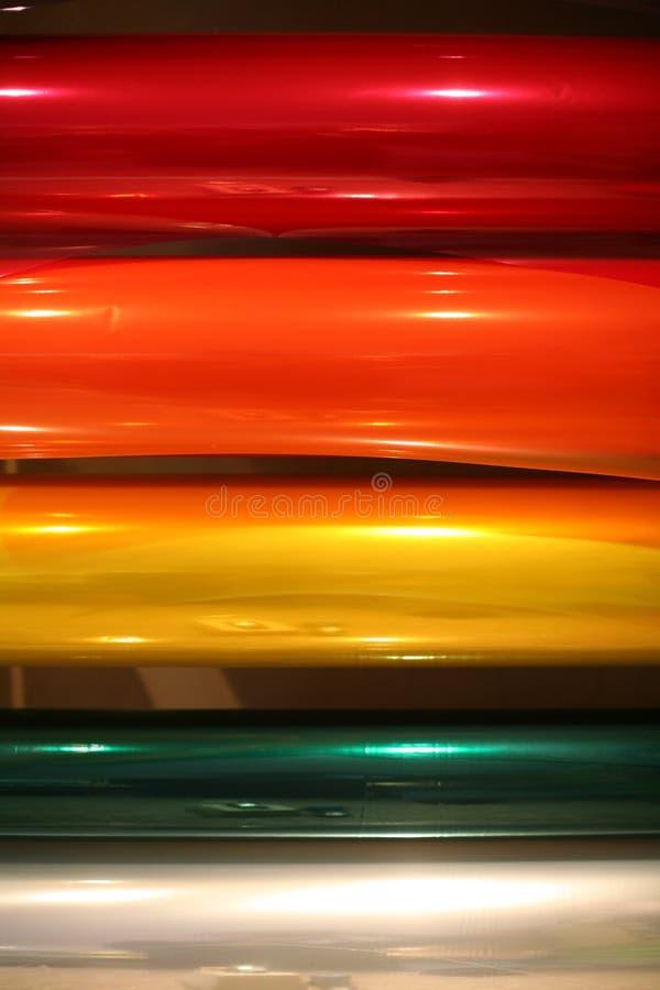 paper regnbågeinpackning fotografering för bildbyråer