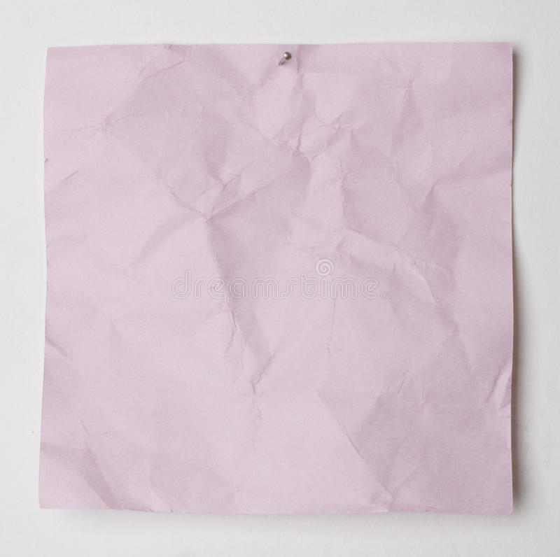 Download Paper reminder stock image. Image of pattern, crumpled - 25142269