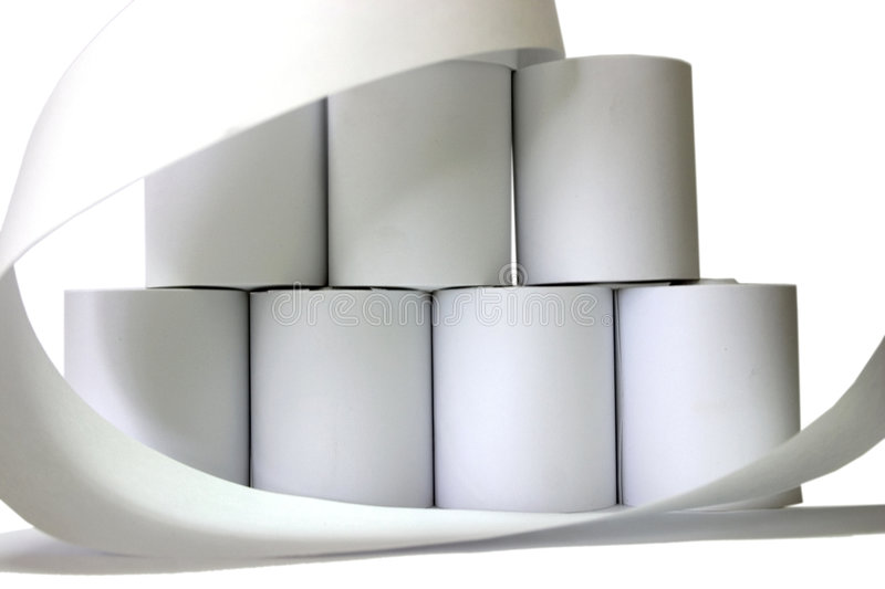Download Paper Rolls Stock Photo - Image: 3573030