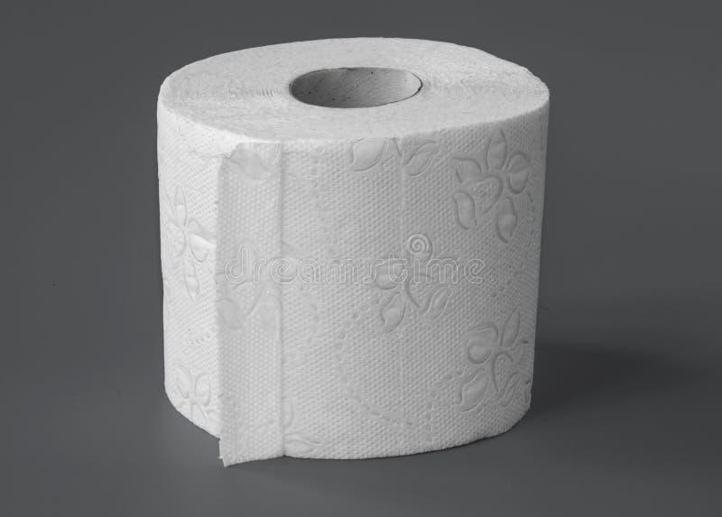 paper rulltoilette royaltyfri bild