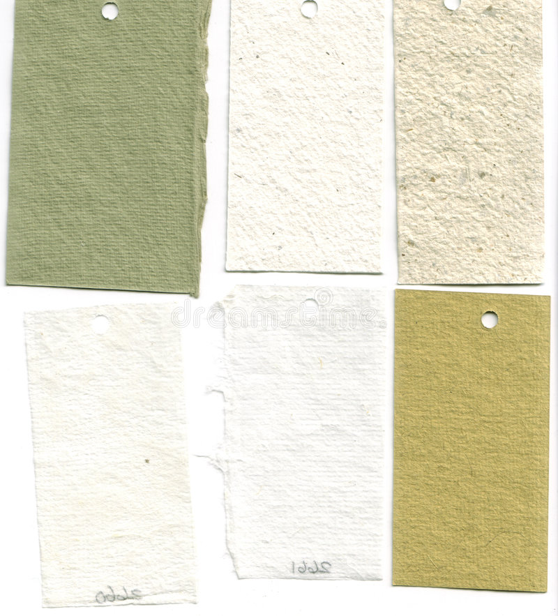 Paper Sample Swatches stock images