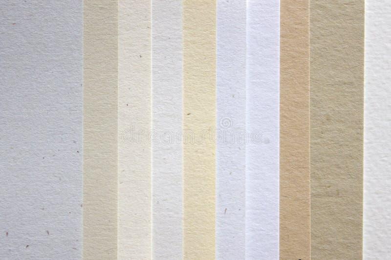 Paper samples stock photos