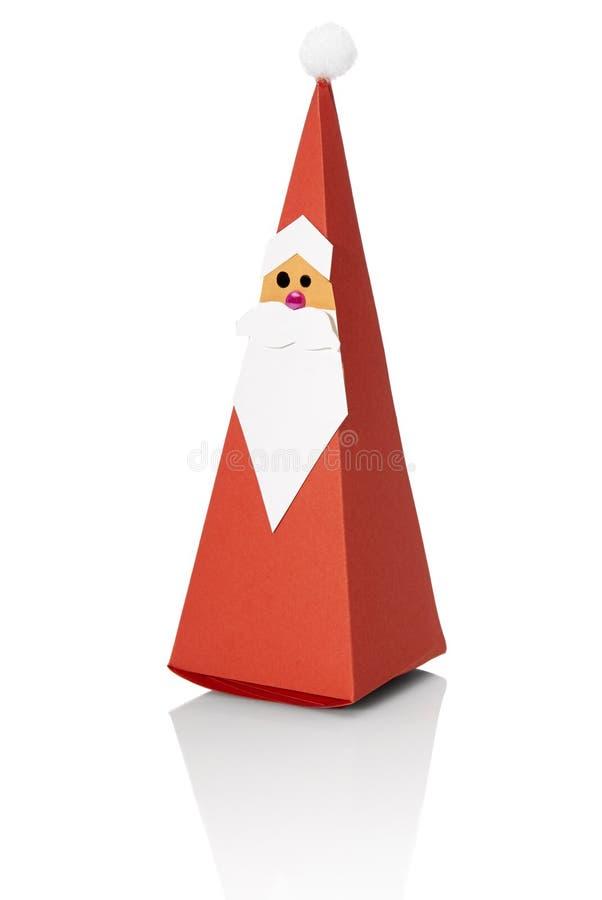 Paper Santa Claus royalty free stock photos
