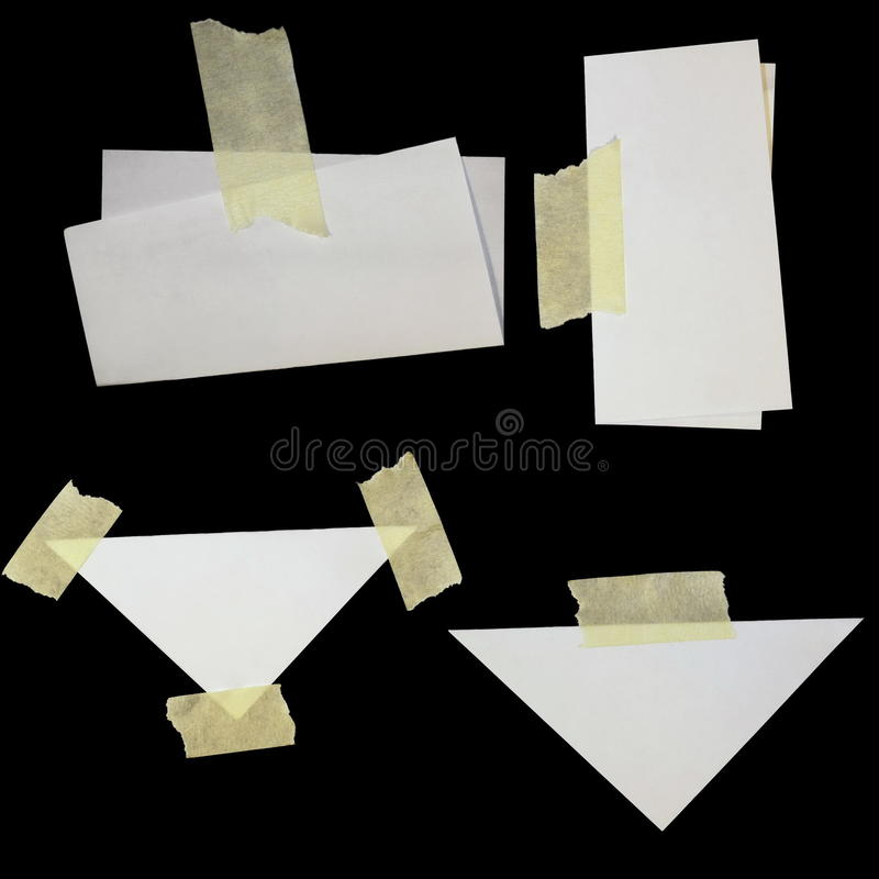 Download Paper Scraps And Masking Tape Stock Image - Image: 16578603